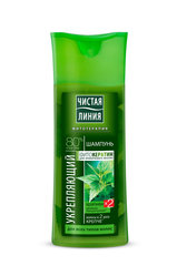 Stiprinošs šampūns Čistaja Linija 250 ml
