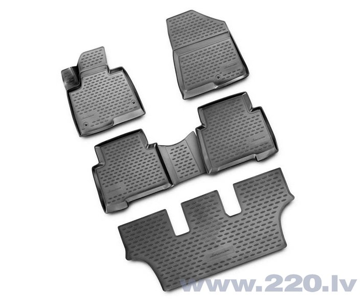 3D HYUNDAI Grand Santa Fe 2013->, 5 pcs. /L27008G /gray