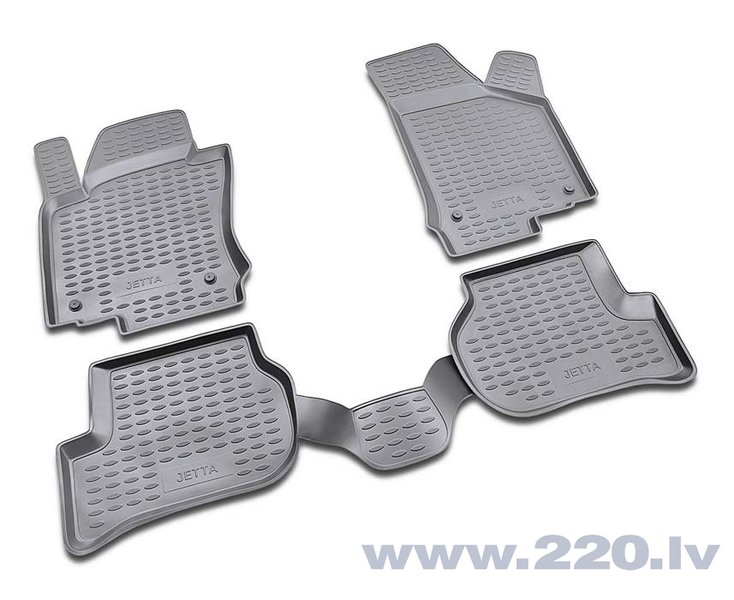 3D VW Jetta 2005-2010, 4 pcs. /L65026G /gray