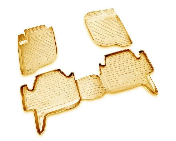 3D MITSUBISHI Pajero Sport 2008-2012, 4 pcs. /L48055B /beige