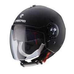 Atverama ķivere Caberg Riviera V3, melna cena un informācija | Moto apģērbs | 220.lv