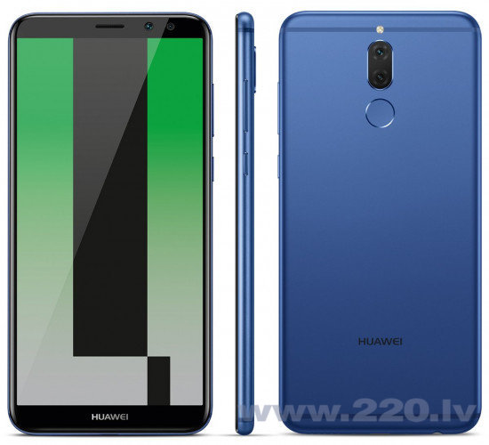 Huawei Mate 10 Lite, Dual SIM, Zils