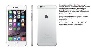 Apple iPhone 6 16GB, Sudrabains (Atjaunots) A-klase