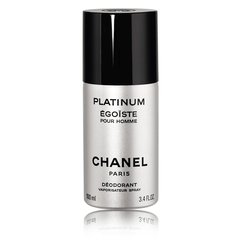 Pūšamais dezodorānts Chanel Egoiste Platinum 100 ml