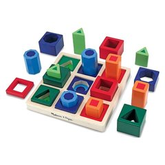 Koka formas Melissa & Doug Shape Sequence Sorting Set