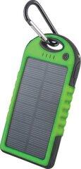 Lādētājs-akumulators (barošana no saules enerģijas) Forever 5000mAh, Zaļš