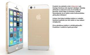 Apple iPhone 5S 16GB, Zeltains (Atjaunots) A-klase