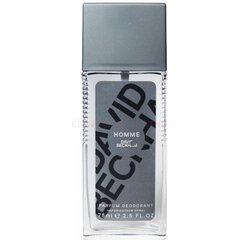 Izsmidzināms dezodorants David Beckham Homme vīriešiem 75 ml cena un informācija | Parfimēta vīriešu kosmētika | 220.lv