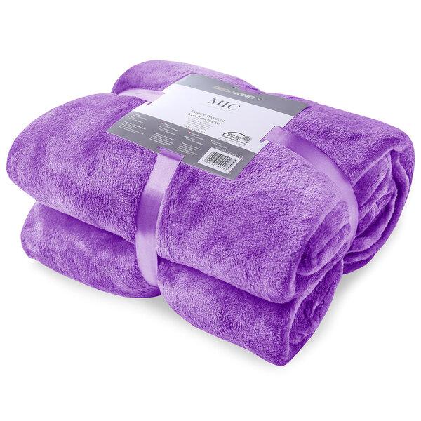Pleds MIC Violet, 160x210 cm