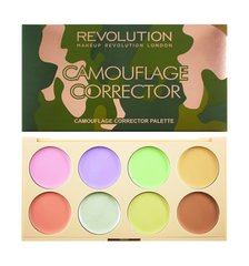 Maskējošā palete Makeup Revolution London Camouflage 13 g
