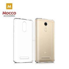 Mocco Ultra 0.3 mm silikona aizsargvāciņš telefonam Xiaomi Redmi Note 5, Caurspīdīgs