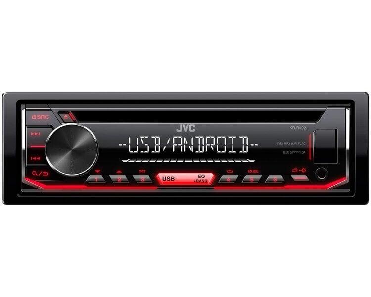 JVC, KD-R492 CD/USB MP3/WMA automagnetola su AUX įėjimu cena