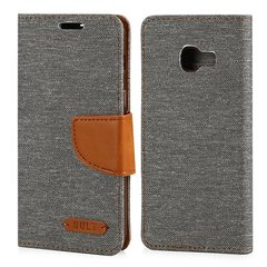 Qult Fancy Book Case For Apple iPhone 7 / 8 Grey - Brown