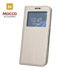 Mocco Smart Look Magnet Book Case With Window For Samsung Huawei Mate 10 Gold