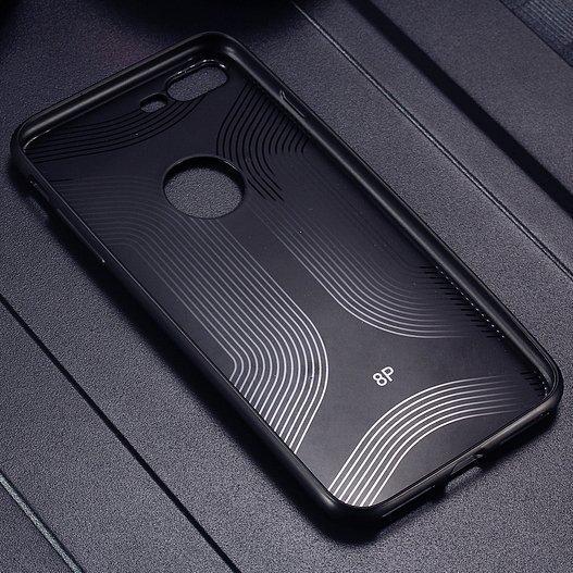 Qult Luxury Drop silikona aizmugurējais vāciņš telefonam Samsung G955 Galaxy S8 Plus, Sarkans lētāk