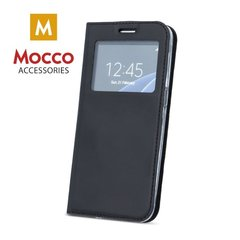 Mocco Smart Look Magnet Book Case With Window For Huawei P10 Lite Black