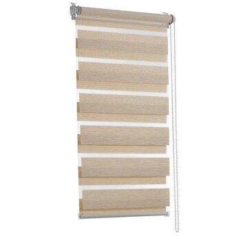 Rullo žalūzijas MINI Diena-Nakts DUO PREMIUM, 61,5x140 cm