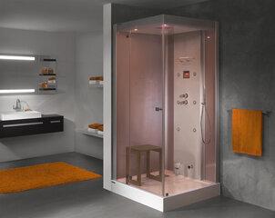 Ūdens masāžas dušas kabīne Sanplast KN/Space Line-HP 100x100 L