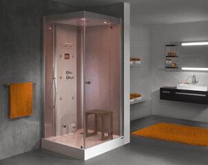 Ūdens masāžas dušas kabīne Sanplast KN/Space Line-HP 100x100 P