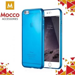 Mocco Flexmat Ultra Back Case 0.3 mm Silicone Case for Apple iPhone 7 Blue