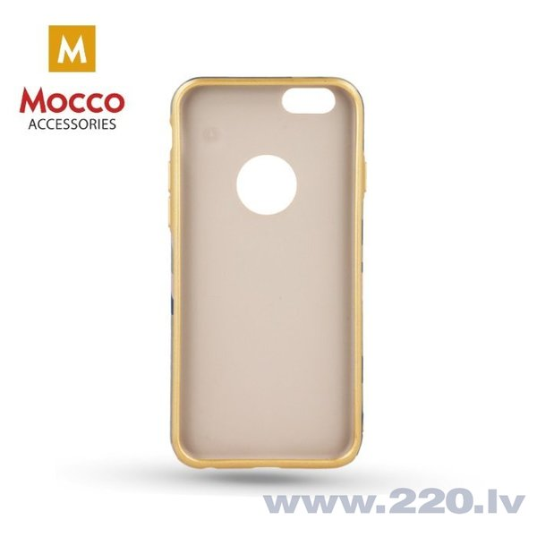 Mocco Army Back Case Silicone Case for Apple iPhone 6 / 6S Green