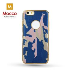Mocco Army Back Case Silicone Case for Huawei P10 Lite Blue