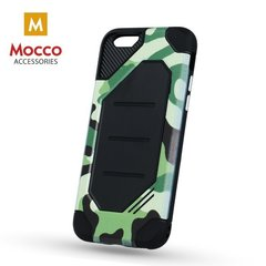 Mocco Defender Army Super Protection Back Case for Samsung A320 Galaxy A3 (2017) Green