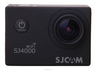 SJCAM SJ4000 WiFi, Melns cena un informācija | SJCAM SJ4000 WiFi, Melns | 220.lv