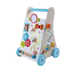 Koka aktivitāšu centrs uz ritentiņiem GT61305GT61305 cena un informācija | Rotaļlietas zīdaiņiem | 220.lv