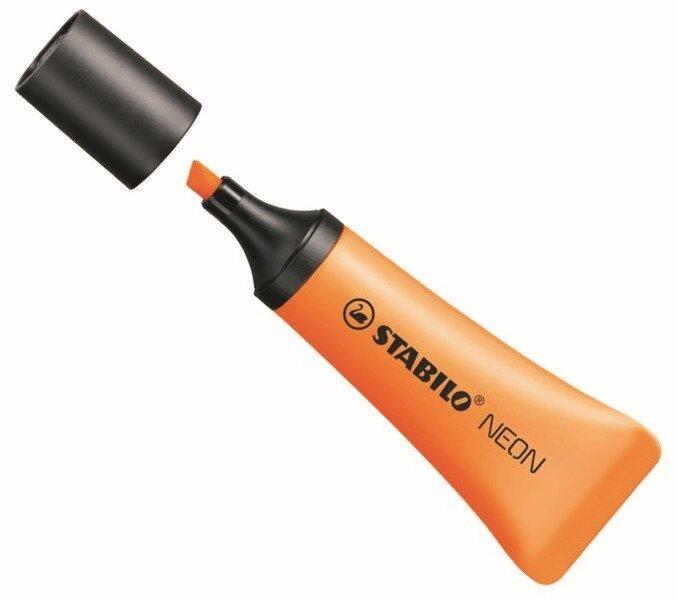 Текстовый маркер Stabilo BOSS neon оранжевый
