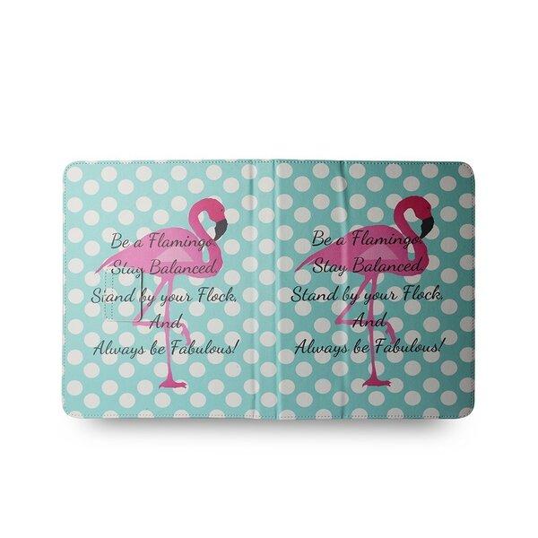 """""""Universāls maciņš TelForceOne GreenGo Flamingo dots piemērots 7-8"""""""" planšetdatoriem"""" cena"""