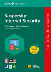 Новая лицензия Kaspersky Internet Security Multi-Device 2018 (1 устройство)