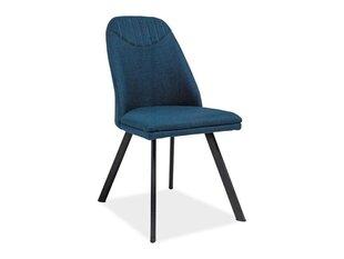 4 krēslu komplekts Pablo, zils cena un informācija | Virtuves un ēdamistabas krēsli | 220.lv