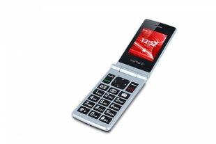 MyPhone Tango, Dual SIM, Sudrabains / melns