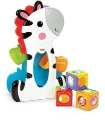 Zebra ar krāsainiem klucīšiem Fisher Price, CGN63