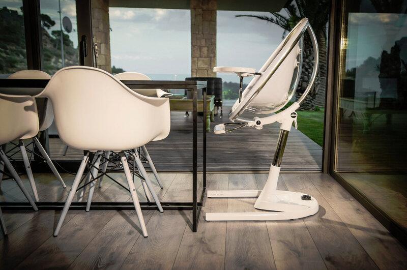 MIMA barošanas krēsls Moon 2G, White H103R-CL