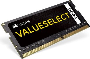 Corsair ValueSelect 16GB 2133MHz DDR4 SODIMM 1.2 V cena un informācija | Corsair ValueSelect 16GB 2133MHz DDR4 SODIMM 1.2 V | 220.lv