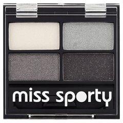 Acu ēnas Miss Sporty Quattro Studio 3.2 g 414 Smokey  cena un informācija | Acu ēnas, skropstu tušas, zīmuļi, serumi | 220.lv