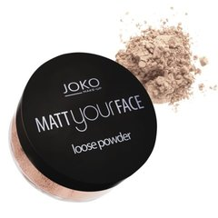 Berams matēts pūderis Joko Make-Up Matt Your Face 23 g