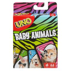 "Kārtis UNO ""Baby animals"""