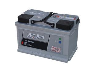 Akumulators Autopart Galaxy Silver 75Ah 750A cena un informācija | Akumulators Autopart Galaxy Silver 75Ah 750A | 220.lv