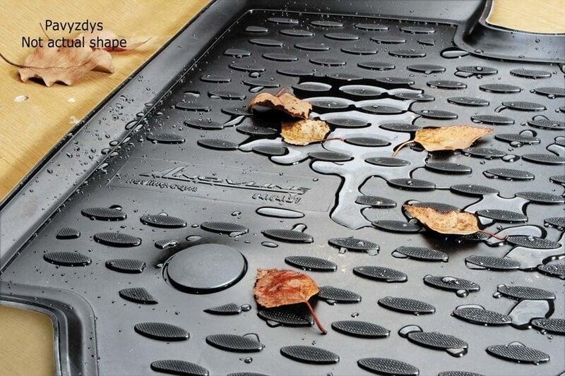 Guminiai kilimėliai 3D BMW 1 (f20) 2011->, 4 pcs. /L04001G /gray