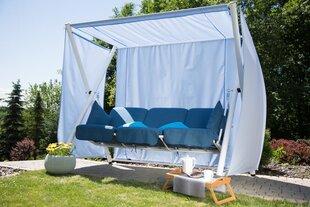 Dārza šūpoles Patio Calabria D020-01EB, balta/zila