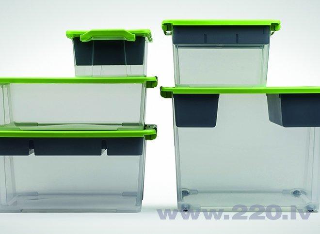 Kaste ROTHO EVO SAFE, 44L zaļa lētāk