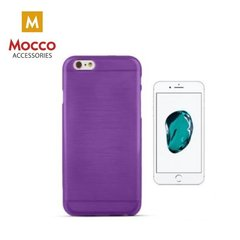 Telefona maciņš Mocco Jelly Brush Case, piemērots Apple iPhone 7 Plus / 8 Plus telefonam, violets