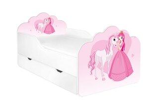 Gulta ar matraci un veļas kasti POLA 9, 160x80 cm cena un informācija | Bērnu gultas | 220.lv