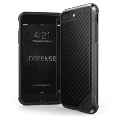 Apple iPhone 7+/8+ Defense Lux Cover By Xdoria Black Carbon