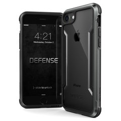 Apple iPhone 7/8 Defense Lux Shield Cover By Xdoria Black