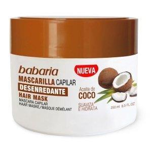 Matu maska ar kokosriekstu eļļu Babaria, 250 ml