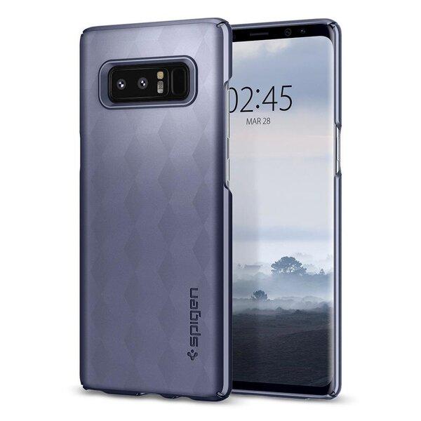 AizsargvāciņšSpigen Rugged Armor Impact, piemērotsSamsung N950 Galaxy Note 8 telefonam, violets/zeltains cena